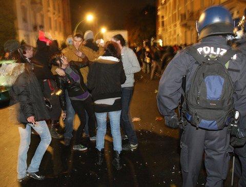 Nachttanzdemo 2008 (Foto:FR-Online)